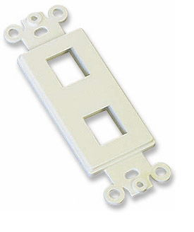 ICN Decora Wallplate Ivory, 2 Outlet Only $1.80  at USBGear.com