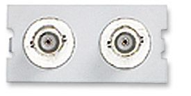 ICN Wall Plate System Dual BNC Module Only $2.92  at USBGear.com