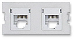 ICN Wall Plate System Dual Cat5e Keystone Module Only $3.98  at USBGear.com