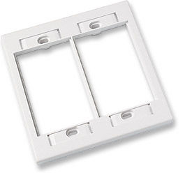ICN Wall Plate System Double Gang Wall Plate Only $1.10  at USBGear.com