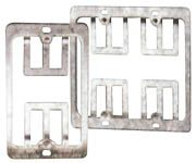 ICN Wallplate Mounting Bracket Flush, Metal, Double Gang Only $1.15  at USBGear.com