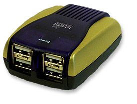 MH USB 2.0 Hub 4 port, pocket Only $21.80  at USBGear.com