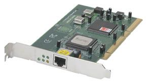 INT Network Card PCI 10/100/1000, RJ45 Connect - Image A