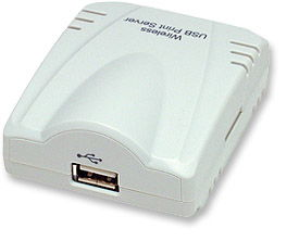 Network Wireless Print Server    For USB Printers - Image A