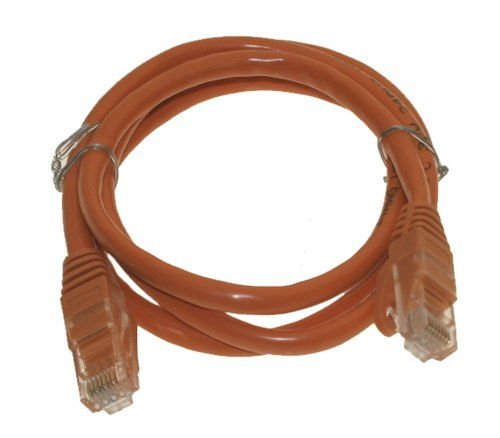 8 ft. Cat6 Orange High Performance Patch Cable UTP (2439mm) - Image B