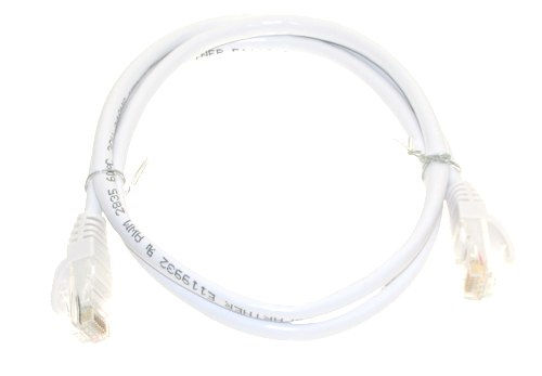 125 ft. Cat6 White High Performance Patch Cable UTP (38100mm) - Image B