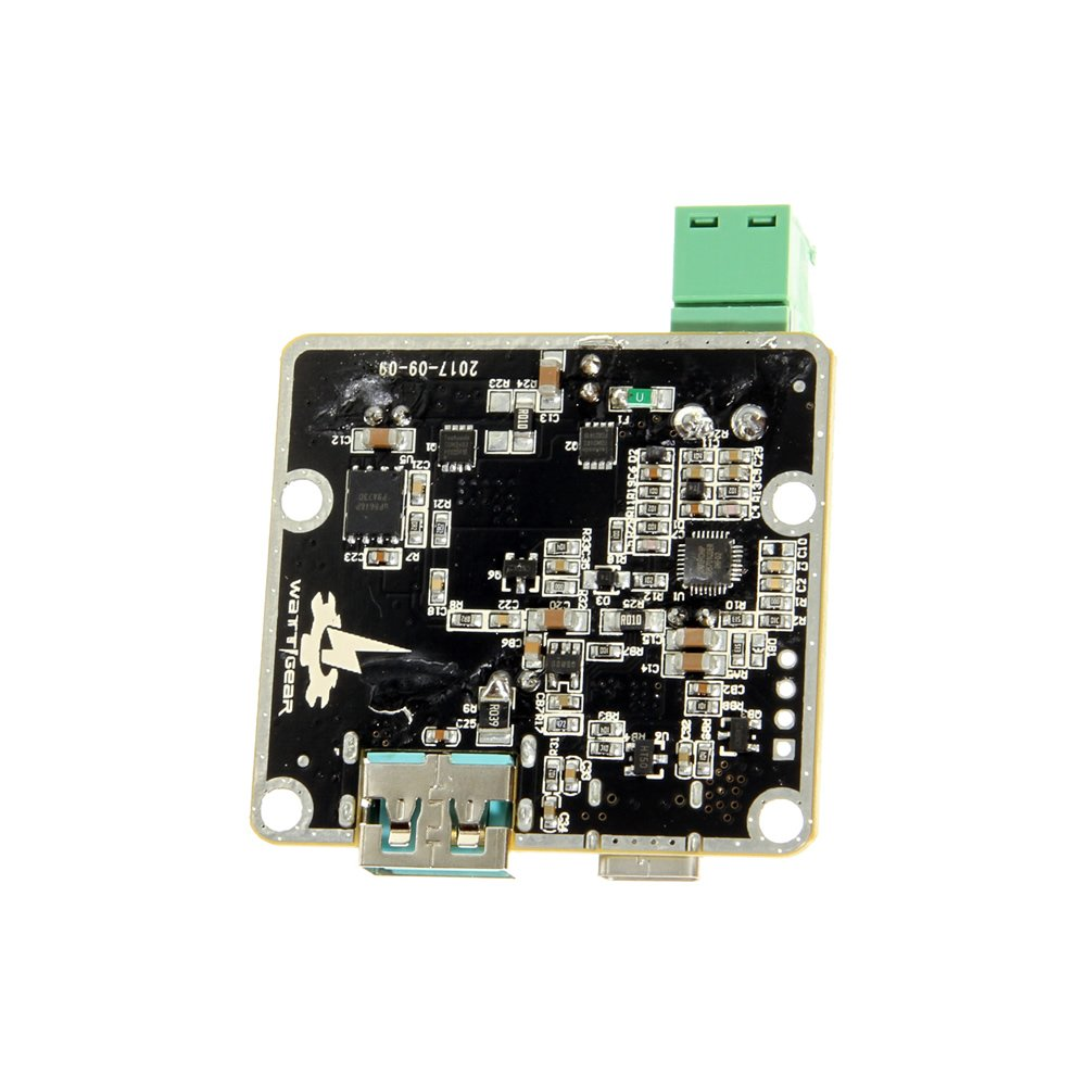 USB Car Charger Board 60W High Power PCB Only with Cypress CCG2 Chip - Image B