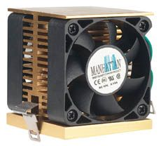 MH CPU Cooler Socket 7/370, Dual Fan Only $5.25  at USBGear.com