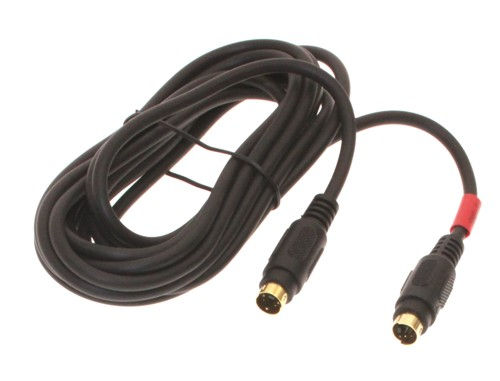6ft. S-Video cable - Male 4 pin mini-DIN to M 4 pin mini-DIN Gold Plated - Image A