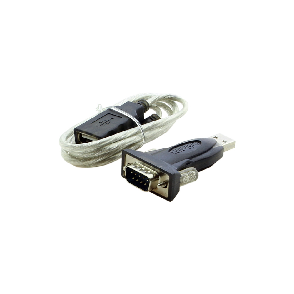 USB Serial Adapter USB to Serial RS-232 DB9 FTDI Mini