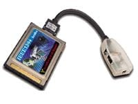 Two Port 1394 Firewire CardBus PCMCIA Card Only $29.98  at USBGear.com