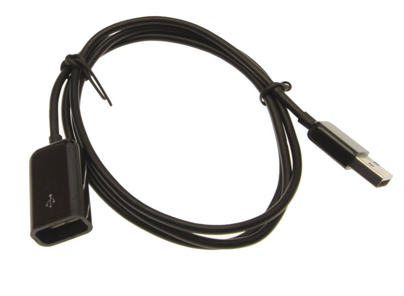3ft. USB 2.0 Hi-Speed A Male to A Female Extension Cable Black Only $2.19  at USBGear.com
