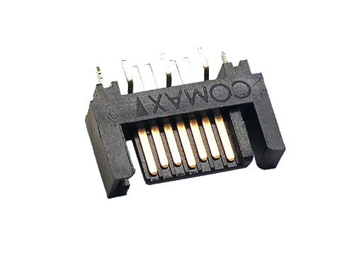 7 pin SATA DIP type vertical plug for MSI - Image A