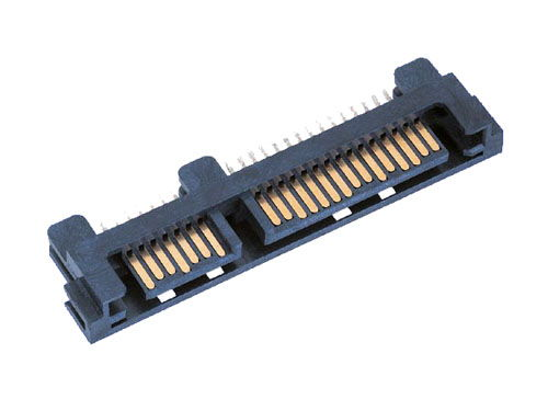 22 pin signal + power (7+15 pins), SMT edge mount for latch type connector Only $9.99  at USBGear.com