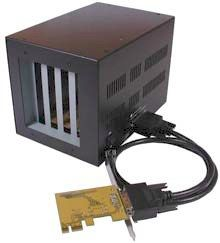 1 Port PCI-e to 4 X PCI Expansion Enclosure