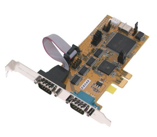 2 port Serial RS-232 PCI-Express 1x Card Only $59.98  at USBGear.com