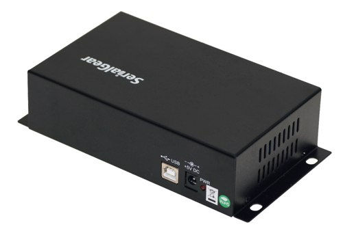 Industrial 8-Port DB-9 RS232 to USB Adapter Isolation Surge Protection - Image C