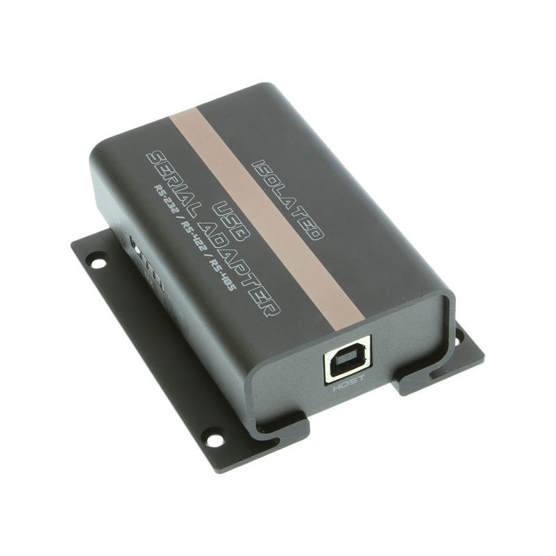 Isolated USB to RS232 RS422 RS485 Mountable Terminal Block Adapter  - Image B