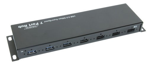 USB3 Vision 7-Port USB3 Hub with Screw Lock Super-Speed Cables Only $149.95  at USBGear.com