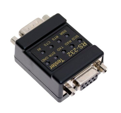RS-232 LED link Tester DB-9 Male to DB-9 Female Only $19.98  at USBGear.com