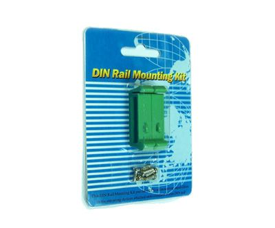 DIN-RAIL-CLIP for all USBGear/SerialGear/Cablemax/CoolGear Adapters - Image C