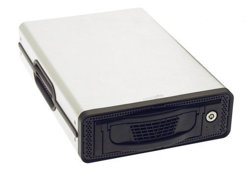 DK-9 Removable Hard-Drive Enclosure USB 2.0 + Firewire 1394 with  Ultra Quiet Cooling Fan - Image B