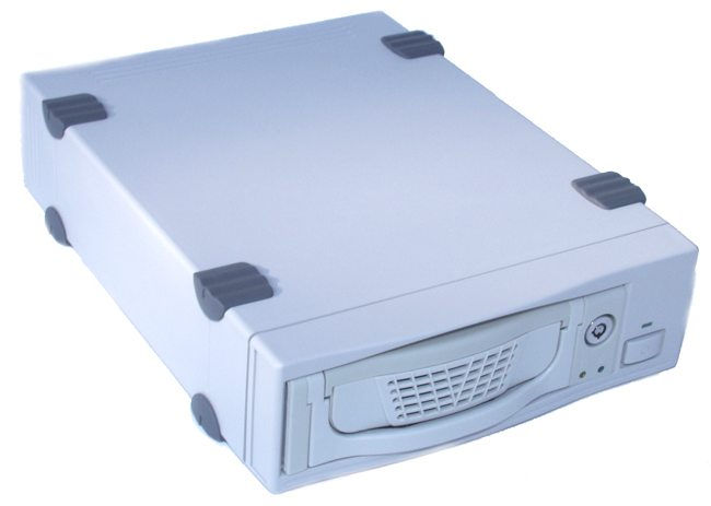 DK-6W ATA-6 LBA-48/ATA-133 Removable Hard-Drive Enclosure USB 2.0 + Firewire 1394 with 3X Cooling Fans Only $109.55  at USBGear.com