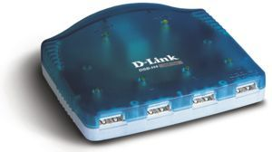D-Link 4 Port USB Hub for PC's/Mac's