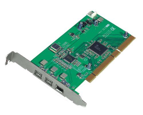 3-Port FireWire 800 1394b PCI Card 64/32 bit Only $44.98  at USBGear.com