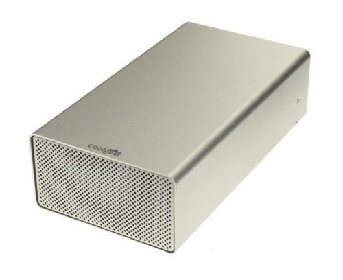 DUAL DRIVE FireWire 800  & USB 2.0 Combo to ATA Aluminum external enclosure Only $129.77  at USBGear.com