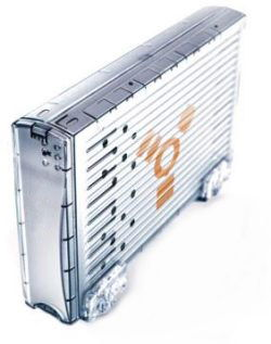 ICE 60GB 7200RPM External FireWire Hard Drive - Image A