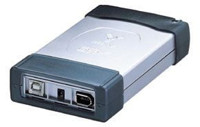 40GB MINI-LAP-DRIVE IEEE1394 FireWire and USB 2.0 Hard Drives - Image A