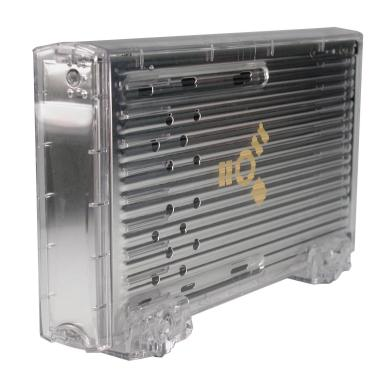 ICE CLEAR 1394 FireWire Enclosure for 3.5 Drives 911 Chip  - Image A