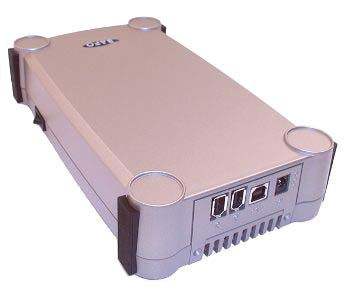 3.5/2.5 FireWire 1394 + USB 1.1 Hard Drive CASE Only $69.98  at USBGear.com