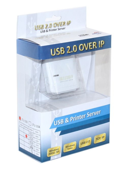 USB 2.0 Over IP Device Server, Network TCP/IP  - Image B