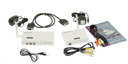 Wireless HDTV Video Sender to any TV up to 100ft away 2.4Ghz HDTV-WIFI - Image B