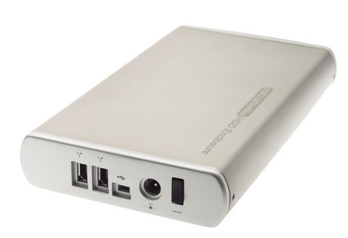 KOMODO Ultra-Slim Firewire + USB 2.0 Combo Aluminum Case for IDE ATA HDD - Image A