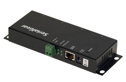Industrial  4-Port RS-232 to Ethernet Data Gateway TCP/IP - Image B