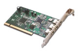 1394 Fire Wire VIA Chipset 3 port PCI card for Windows 98SE/ME/2000 and XP!