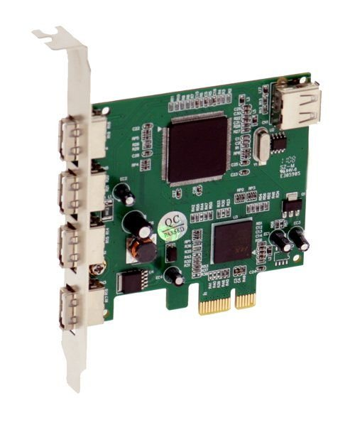 NEC PCI-Express x1 to 4+1-Port USB 2.0 Controller  - Image A