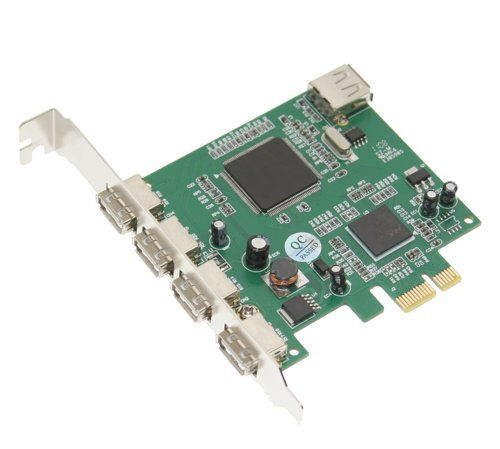 NEC PCI-Express x1 to 4+1-Port USB 2.0 Controller  - Image B