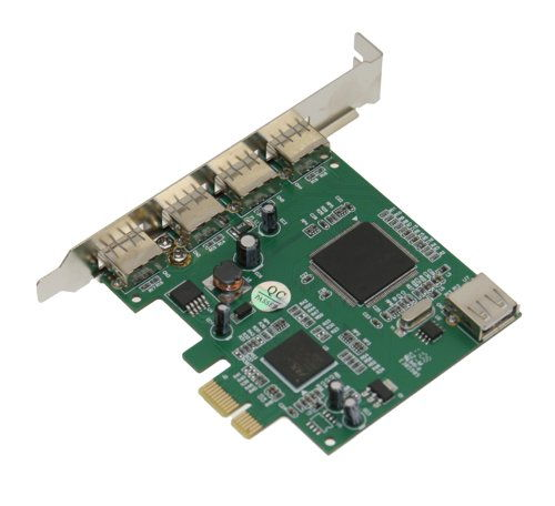 NEC PCI-Express x1 to 4+1-Port USB 2.0 Controller  - Image C