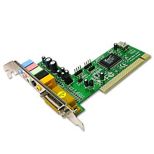 C-Media CMI8738 6-Channel PCI Sound Card  Only $9.78  at USBGear.com