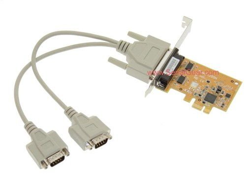 2-Port RS-232 PCI Express Serial Board Vista/XP Oxford Chip Only $39.98  at USBGear.com