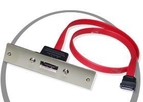 Serial ATA Signal Cable for SCSI Mount Centronnics Openning Only $14.98  at USBGear.com