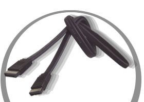 3ft. Serial ATA Cables > Signal Cables > SATA-ES100  Only $9.98  at USBGear.com
