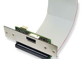 SATA-IDE03-S is a Serial ATA to Parallel ATA Bridge Board(scsi enclosure mount) - Image A