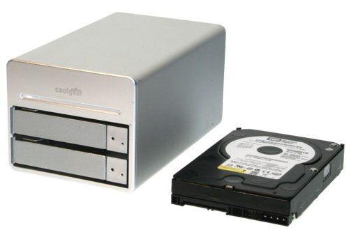 DUAL Drive 3.5-inch SATA to USB2.0 & FireWire800 HDD Enclosure - Image C