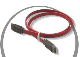 2ft.. Serial ATA Cables > Signal Cables  SATA Only $1.98  at USBGear.com