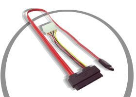 1ft.. Serial ATA Cables > Signal Cables > and Power cable Only $2.98  at USBGear.com